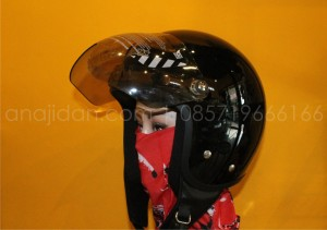 Helm Cargloss Retro Black