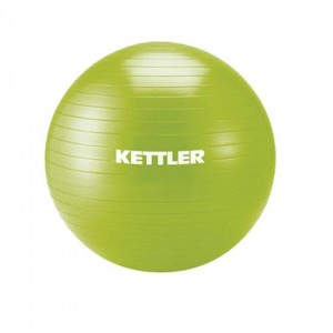 KETTLER Gym Ball 75cm (Green/Grey/Purple)