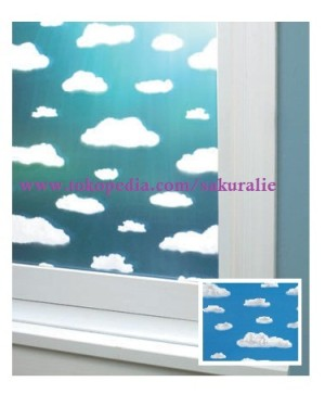 D-C-Fix Clouds Glass Film ( Sticker Kaca )