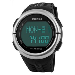 harga SKMEI Sport Watch Pedometer Heart Rate Tracking Water Resistant Tokopedia.com