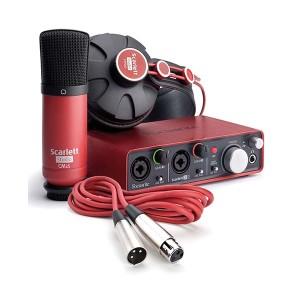 harga Focusrite Scarlett Studio - Complete Professional Recording Package Tokopedia.com