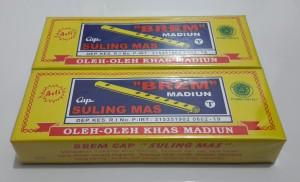 BREM Madiun Cap Suling Mas 100 gr - Oleh Oleh Kediri