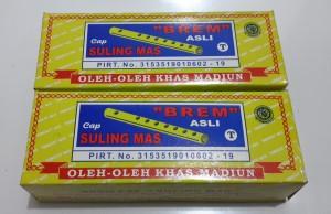 BREM Madiun Cap Suling Mas 200 gr - Oleh Oleh Kediri