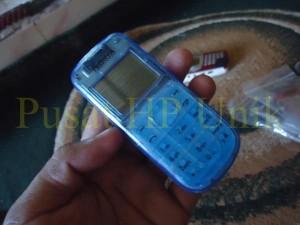 HP #6 - Nokia 1202 Kesing Biru Transparan