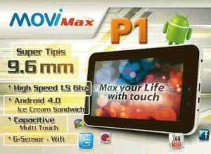Tablet Movimax p1 lite