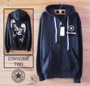 Sweater Hoodie Converse Shoes