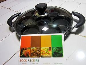 Cetakan MARTABAK MINI Snack Maker 7 Lubang   Bonus Buku Resep