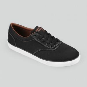 Sepatu Tomkins Mandela Man Black Brown