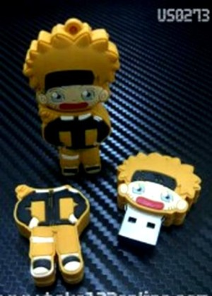 harga 2454 USB FLASHDISK UNIK BONEKA KARAKTER LUCU NARUTO - BUS0273 - 8GB Tokopedia.com