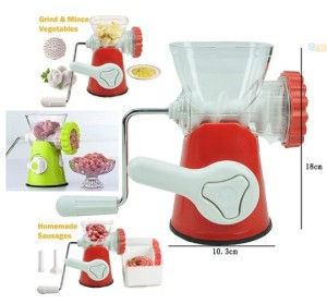manual penggiling chopper meat grinder daging sayuran pasta mincer