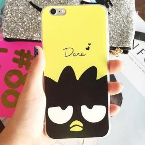 PO Custom Case Badtz Maru Yellow for Iphone/Samsung/Xiaomi/Zenfone dll