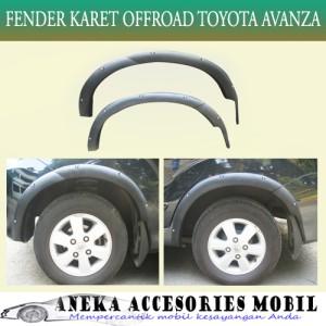 Over Fender Karet Offroad Toyota Avanza