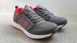 harga Sepatu Lari Ardiles North Grey Red White Tokopedia.com