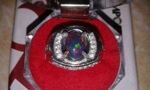 harga batu akik black opal banten natural Tokopedia.com