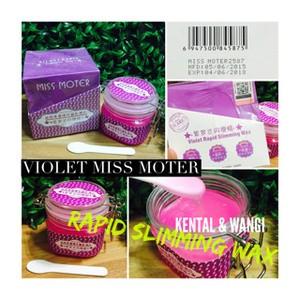 VIOLET MOTER Rapid Slimming Wax / Miss Moter Ungu