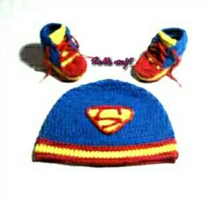 harga topi dan sepatu bayi rajut handmade Tokopedia.com