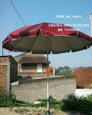 Payung Tenda jualan dagang PKL, Stand, Cafe, diameter 250cm (2 Lapis)