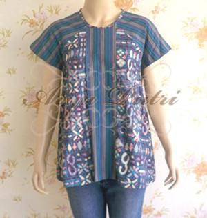 Jual Baju BatikAtasan Batik Wanita Blouse Batik Wanita ATS036