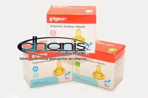Dot Botol Susu Bayi Pigeon Isoprene Rubber Nipple S - Dhanis Baby Shop