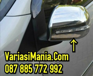 harga Cover Spion Lampu Agya/Ayla/All New Avanza/All New Xenia Crome Tokopedia.com