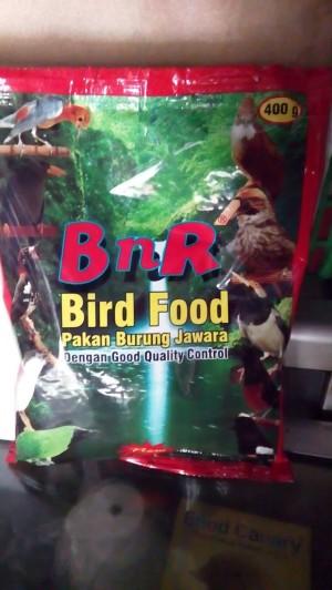 pur bnr bird food  pakan burung jawara semua burung