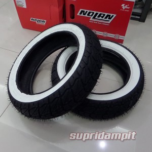Ban Vespa LX & S150 Shinko SR723 White wall not Pirelli Swallow Dunlop