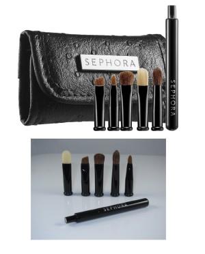 sephora makeup brush kit. sephora look smart travel size eye make up brush set sephora makeup brush kit h