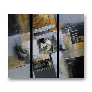 Lukisan Panel Abstrak