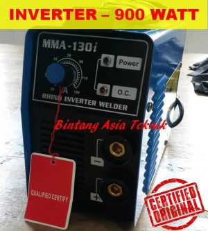harga Mesin Las Listrik Inverter RHINO MMA 130i Tokopedia.com
