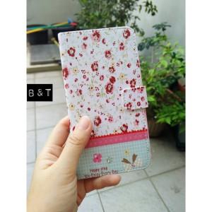 harga Flipcase/leather case bunga dan bling Samsung Note 4 Tokopedia.com