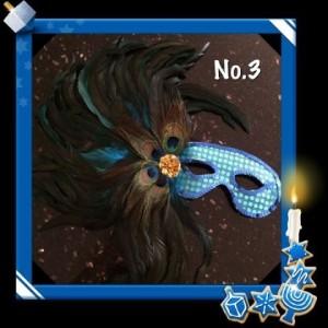 Peacock Eyemask