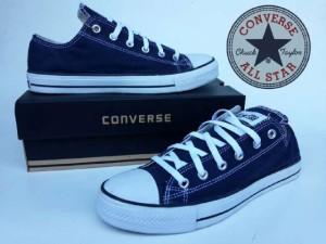 Sepatu Pria Converse All Star Navy Made In Vietnam Original Murah# 40