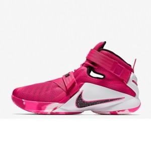 e41cc53342a Sepatu Basket Nike Lebron Soldier 9 Think Pink Original .