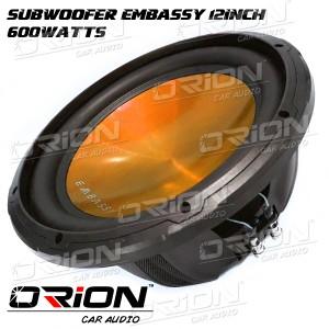 harga Subwoofer Embassy 12inch [ORION CAR AUDIO] Tokopedia.com