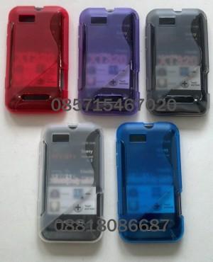 Softcase Motorola Defy Mini XT320 XT321 - Defy XT535 + Antigores