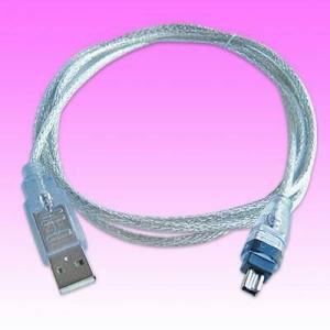 Kabel usb to Firewire pin 4 ieee1394a (di handycam tertulis DV).