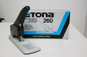 harga Stapler Etona 260 Heavy Duty / Stapler besar di atas 200 lembar Tokopedia.com