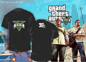 harga KAOS GRAND THEFT AUTO : GTA V - MERK ORIGINAL GAMERDISTRO BANDUNG - BKN KASET PC GAMES DVD PS3 XBOX Tokopedia.com