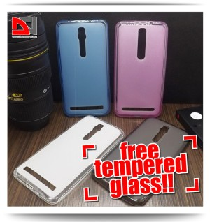 Case TPU Semi Transparent Softcase Asus Zenfone 2 5.5