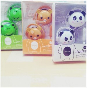 Headset Model Kepala Boneka For Android (Samsung / BB / Iphone / DLL)
