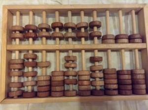 Mainan Edukatif -mainan kayu - Sempoa Kecil 70