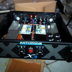 power amplifier rakitan 600 watts 3U ampli rakitan profesional