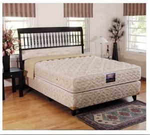 Uniland Kasur Spring Bed Platinum 160x200 - Full Set 160 x 200