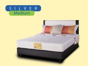 Super Fit Kasur Spring Bed Silver 160x200 - Kasur Saja 160 x 200