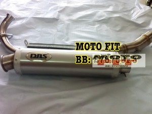 Knalpot DBS Suzuki Satria FU Garansi Stainless Steel Anti Karat