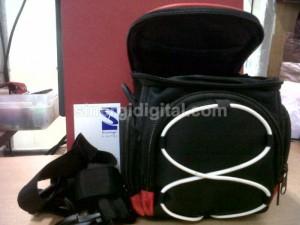 Tas Kamera Handycam Slempang Camera Bag u/ Semipro Canon Nikon Sony