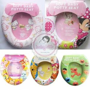 ... Pink Source SOFT BABY POTTY SEAT & 40 Alas dudukan closet toilet