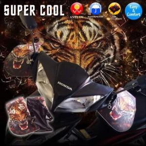 sarung tangan anti panas tempel stang motor SUPERCOOL TIGER