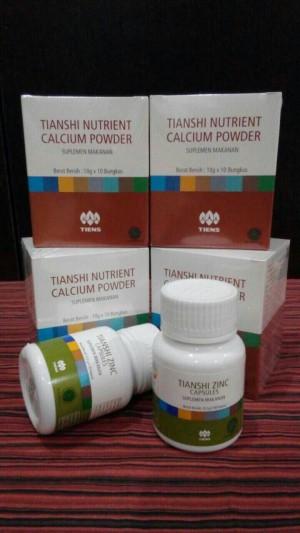 Paket Peninggi Badan Herbal Tiens