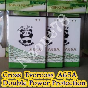 Baterai Cross Evercoss A65A Rakkipanda Double Power Protection